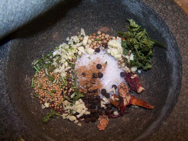 Steak Würzmischung für Käse , Fleisch und Fisch , - Rezept - Bild Nr. 6905