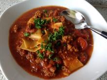Lasagne - Suppe - Rezept - Bild Nr. 2