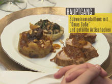 """Schweinefilet mit """"Omas Soße"""" auf Zimt- und Mandelbasis - Rezept - Bild Nr. 2"""