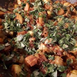 Kartoffel-Rosenkohl- Curry  - Rezept - Bild Nr. 6935