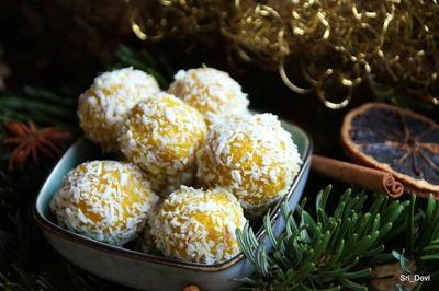Rezept: Zitronen-Kokos-Energyballs