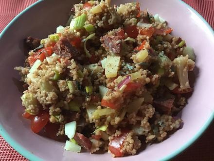 Feuriger Couscous-Salat - Rezept - Bild Nr. 6939