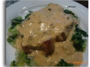 Rumpsteak mit Schaumweincreme auf Endiviengemüse - Rezept - Bild Nr. 6947