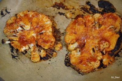 Rezept: Vegetarisches Blumenkohl-Steak