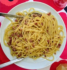 Spaghetti carbonara - Rezept - Bild Nr. 2