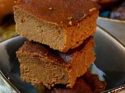 Kuchen: Süßkartoffel-Erdmandel-Brownies - Rezept - Bild Nr. 7643