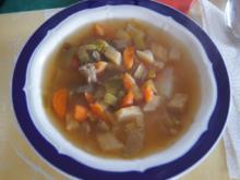 Eisbein-Gemüse-Suppe - Rezept - Bild Nr. 2