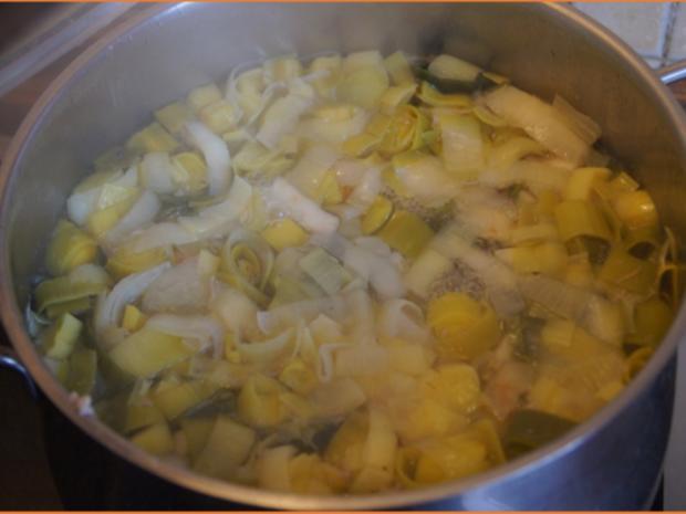 Eisbein-Gemüse-Suppe - Rezept - Bild Nr. 4