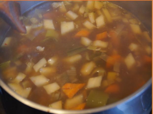 Eisbein-Gemüse-Suppe - Rezept - Bild Nr. 5