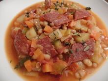 Gemüse-Bohnensuppe mit Chorizo - Rezept - Bild Nr. 6985