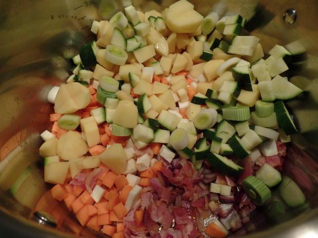 Gemüse-Bohnensuppe mit Chorizo - Rezept - Bild Nr. 6989