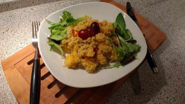 Fruchtiger Couscous - Salat - Rezept - Bild Nr. 6997