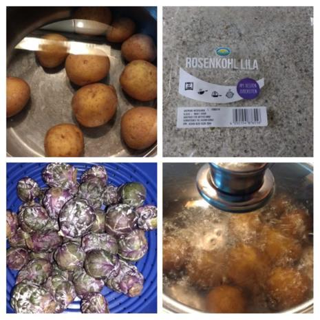 Kartoffel - Rosenkohl - Salat - Rezept - Bild Nr. 6988