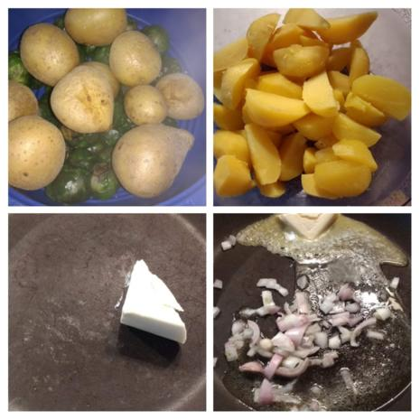 Kartoffel - Rosenkohl - Salat - Rezept - Bild Nr. 6985