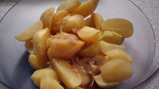 Kartoffel - Rosenkohl - Salat - Rezept - Bild Nr. 6990