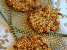 Plätzchen: Zuckerfreie Hafer-Feigen-Kekse - Rezept - Bild Nr. 2