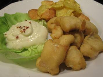 Rezept: Fisch: Fish an Chips nach meiner Art
