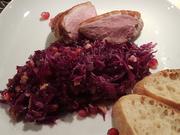 Rotkohlsalat mit Walnüssen und Granatafel - Rezept - Bild Nr. 7025