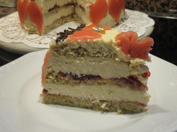 Backen: Bailey´s-Buttercreme-Torte (20iger Form) - Rezept - Bild Nr. 7004