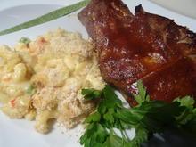 """Spare Ribs """"spicy"""",  glasiert mit BBQ-Soße - Rezept - Bild Nr. 7028"""