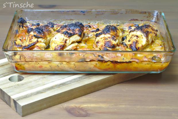 Sizilianisches Hähnchen - Rezept - Bild Nr. 7050