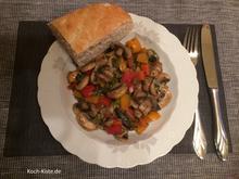 Pilz-Gemüse-Pfanne - Rezept - Bild Nr. 7046
