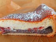 Mohn-Quark- Kuchen mit Preiselbeermarmelade - Rezept - Bild Nr. 7059