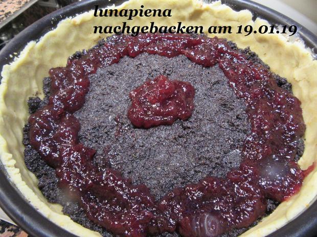 Mohn-Quark- Kuchen mit Preiselbeermarmelade - Rezept - Bild Nr. 7060