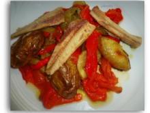 """Katalonischer Gemüsesalat """" Escalivada """" - Rezept - Bild Nr. 7060"""