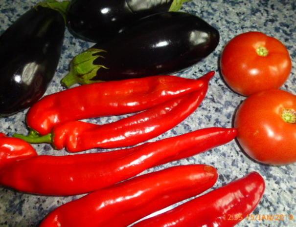 """Katalonischer Gemüsesalat """" Escalivada """" - Rezept - Bild Nr. 7061"""