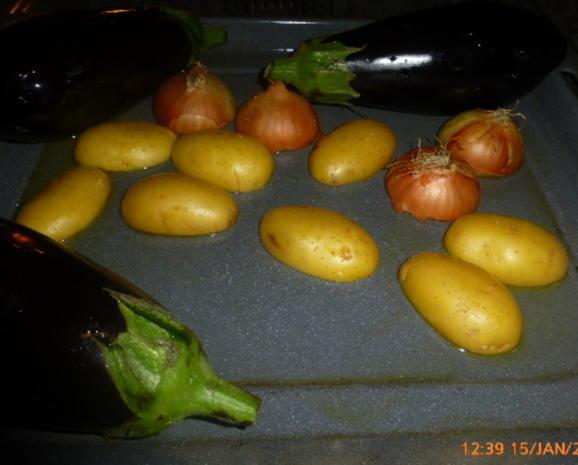 """Katalonischer Gemüsesalat """" Escalivada """" - Rezept - Bild Nr. 7063"""