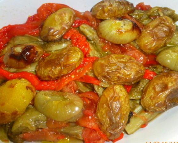 """Katalonischer Gemüsesalat """" Escalivada """" - Rezept - Bild Nr. 7067"""