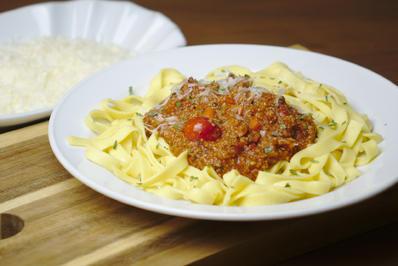Rezept: Veggie-Bolognese