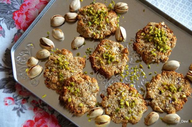 Plätzchen: Pistazien-Kokos-Cookies - Rezept - Bild Nr. 2