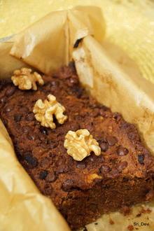 Kuchen: Schokoladen-Bananenbrot mit Nüssen - Rezept - Bild Nr. 7643