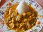 Hähnchenbrustfilet-Curry mit Jasmin Reis - Rezept - Bild Nr. 2