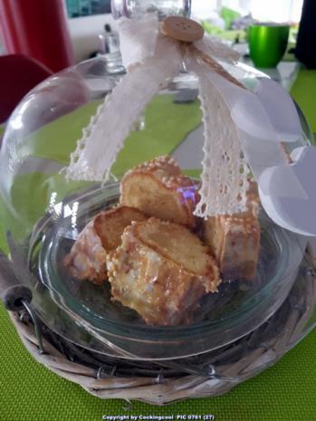 """Oma Löffel`s Kuchen = Mein """"Lieblingskuchen"""" ein Karamellcreme Marzipanrührkuchen - Rezept - Bild Nr. 7103"""