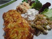 Räucherfisch-Salat mit Rösti - Rezept - Bild Nr. 7110