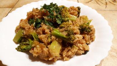 Pikante Brokkoli-Reis-Pfanne - Rezept - Bild Nr. 2