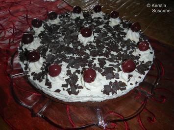 Kirsch-Schoko-Torte - Rezept - Bild Nr. 2