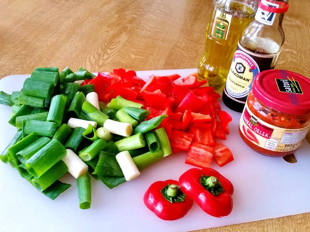 Erfrischend buntes Wokgemüse - Rezept - Bild Nr. 7117