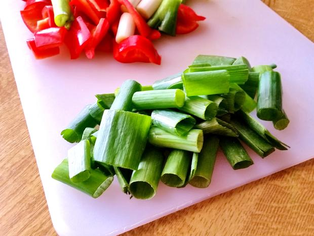 Erfrischend buntes Wokgemüse - Rezept - Bild Nr. 7119