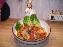 Hähnchenkeulchen auf feinen Gemüse - Rezept - Bild Nr. 7115