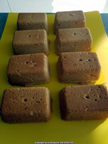 "Oma Löffel`s Kleingebäck = Mini Puddingkuchen mit ""Backpudding Grundrezept"" - Rezept - Bild Nr. 7122"