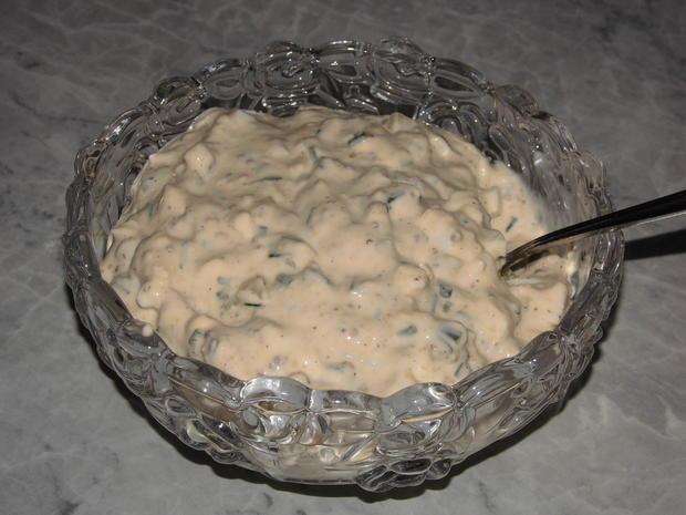 Soßen: Remoulade ohne Mayonnaise - Rezept - Bild Nr. 7166