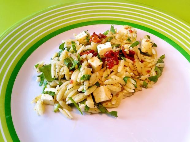 Nudelsalat Griechisch Rezept Mit Bild Kochbarde