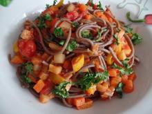 Vegetarische Bolognese - Rezept - Bild Nr. 7170
