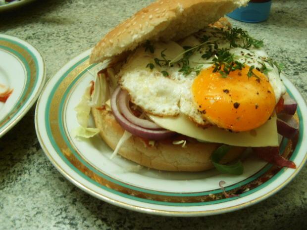 Ei-Burger - Rezept - Bild Nr. 7173