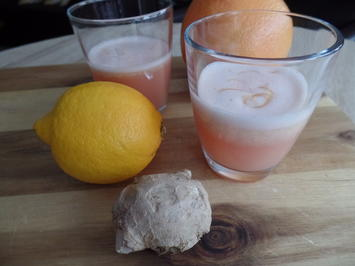 Rezept: Grapefruit Shot