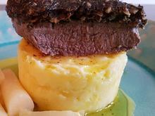 Biggi`s Fleisch = Lammlachse mit einer Korriander Nusskruste - Rezept - Bild Nr. 7195